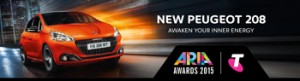 Tenplay/Peugeot 208 ARIAs – Win a major prize of a trip for 2 to Sydney 2015 ARIA Awards valued at $4,113 OR 1 of 10 minor prizes of $500 Visa gift card