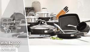 Anolon – Win 1 of 7 Anolon cookware vouchers valued at $2,000 each