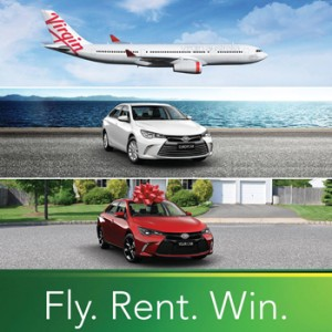 Europcar – Win a new Toyota Camry valued up to $34,490
