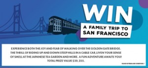 9jumpin Mornings/Inside Out – Win a family trip of 4 to San Francisco valued at $20,235 OR 1 of 10 Inside Out on DVDs