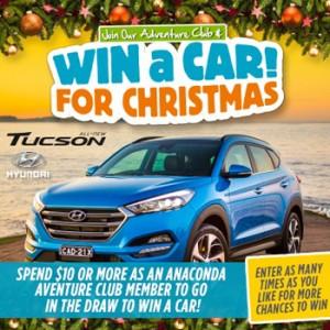 Anaconda Group – Win a Hyundai Tucson Highlander AWD Car valued at $48,742