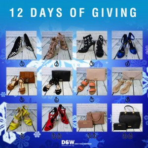 Direct Shoe Warehouse – 12 Days of Christmas Giveaways