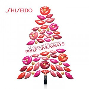 Shiseido Australia – 12 Days of Christmas Giveaways – Win great prizes