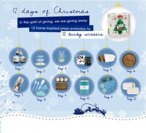 VIVA Clever Cleaning – 12 Days of Christmas Giveaways – Win 12 home inspired prizes