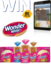 IGA – Wonder White Back to School – Win 1 of 80 Apple Air 2 iPads valued at $699 each