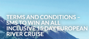 GFO Attractions – The Sound of Music – Win a 15-day jewels of Europe River Cruise for 2 valued at up to $26,000