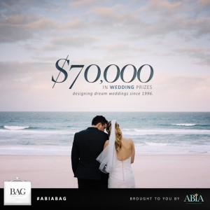 ABIA Gift BAG – Win a share of $70,000 in Wedding Prizes