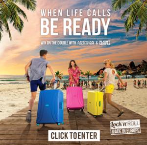 American Tourister Australia & New Zealand – Win a $5,000 Flight Center Voucher & an American Tourister Lock N Roll Travel Set