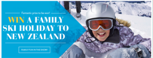Artarmon HomeHQ – Win a 7-night family ski holiday in Queenstown, New Zealand valued at $8,000