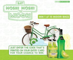 Bottlemart – Midori LMG Bike – Win 1 of 10 Midori Bikes valued at $379 each
