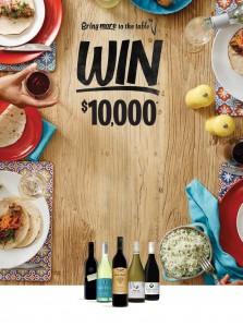 Bottlemart – Win $10,000 cash plus over 500 instant prizes for your dinner table