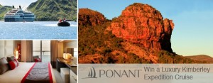 2GB – Win a Luxury Kimberley Expedition Cruise 2016