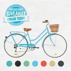 Reid Cycles – Win 1 of 8 Ladies Vintage Bikes