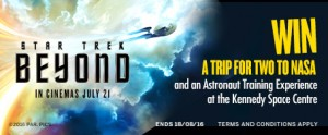 American Express – Win a trip for 2 to NASA with Star Trek Beyond