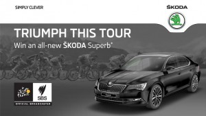 SBS – Tour de France – Win a 2016 ŠKODA Superb Sedan Car