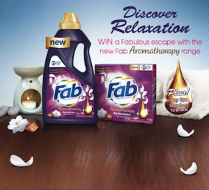 Woolworths – Coles – Win a Fabulous escape with new Fab Aromatherapy product