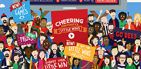 McDonalds – AFL – Cheering for Footys Little Wins – Win a travel prize for 2 to 2016 Toyota AFL Premiership grand final OR many more minor prizes