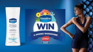 Unilever Australia – Win a Spring wardrobe with Vaseline valued at $1,000 OR 1 of 5 $100 gift vouchers