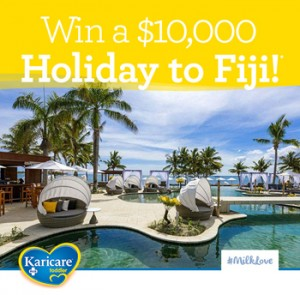 Woman's Day – Karicare – Toddle MilkLove – Win a major prize of a family trip to Nadi Fiji valued up to $11,830 OR 1 of 8 minor prizes