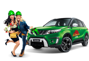 Channel 9 – The Block – Vote to Win a Suzuki Vitara S Turbo 2WD valued at $31,240 OR 1 of 5 trips for 2 to Melbourne