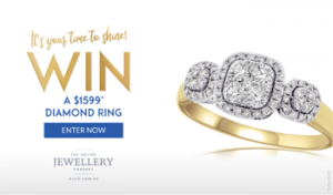 The Carousel – Win a dazzling diamond ring valued over $1,500