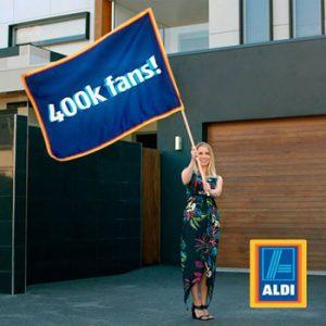 ALDI – 400k Fans – Win 1 of 10 prize packs full of ALDI goodies