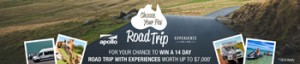Apolo Motorhome – Win a 14-day Apollo Motorhome Holiday rental for 2 valued over $7,000 AUD
