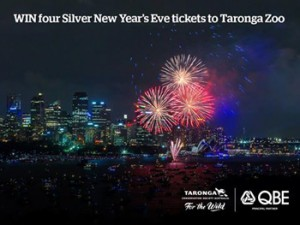 QBE – Win 4 Silver New Years Eve Tickets to Taronga Zoo valued up to $760