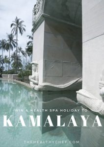 The Healthy Chef – Win a health spa holiday to Kamalaya valued at over $6,000 AUD