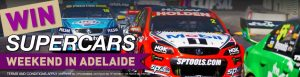 Real Insurance – WIN a family Supercars weekend for 4 in Adelaide valued at $9,700