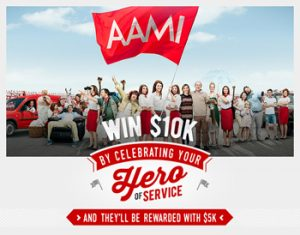 AAMI – Heroes of Service – Win $10,000
