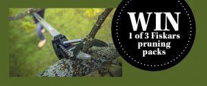 ABC – Gardening Australia – Win 1 of 3 Fiskars Pruning Packs