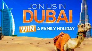 Channel 7 – Sunrise – Win 1 of 4 family holidays for 4 to Dubai valued over $20,000 each