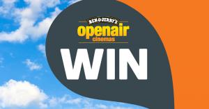 Woolworths Rewards – Openair Cinemas – Win two VIP tickets to the Ben & Jerry's Openair cinema, Bondi
