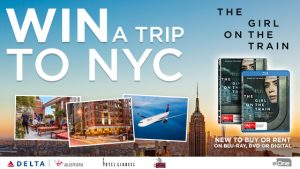 Channel Ten – Win a trip to New York with The Girl on The Train Competition