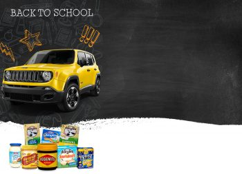 IGA – Back To School – Win a Jeep Renegade valued at $30,000 plus $500 Instant Win Cash Prizes