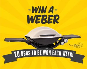 IGA – Spend $30 – Win a Weber Family Q 3100 LP valued at $729