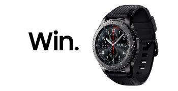 Samsung Australia – Retweet To Win a Gear S3 Watch