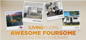 Channel ten the living room win an elite caravan for The living room channel 10 australia