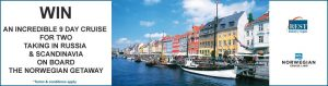 Prime7 – Win a 9-day Cruise for 2 taking in Russia & Scandinavia