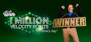 Velocity Frequent Flyer – Swipe to win at BP – Win 1 million Velocity Points