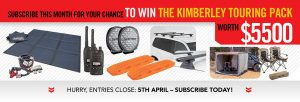 4WD Touring – Win the Kimberley Touring Pack valued at $5,500