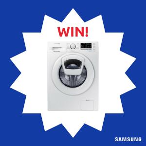 Appliances Online Australia – Win a Samsung WW85K5410WW AddWash 8.5kg Front Load Washing Machine valued at $1,199 RRP