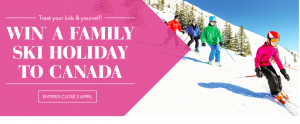 Artarmon Home HQ – Win a 7-night Family holiday for 4 to ski the slopes of Sun Peaks in Canada valued at $9,000