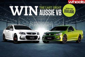 Bauer Media – Wheels Magazine – Win either a Holden SS V Redline Ute or Sedan valued up to $63,614