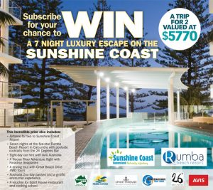 My Magazines – Win a 7-night luxury escape for 2 including flights valued at $5770