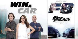 Nova Entertainment – Kate, Tim and Marty's Fast Eight in Eight – Win a 2017 Mazda 2 Neo including registration & CTP insurance