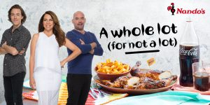 Nova1069 – Kate, Tim and Martys Nandos Drive – Win 1 of 5 cash prizes valued at $2,000 each