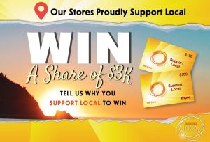 New Sunrise Group – Sunrise Convenience – Win 1 of 30 Eftpos Cards valued at $100 each