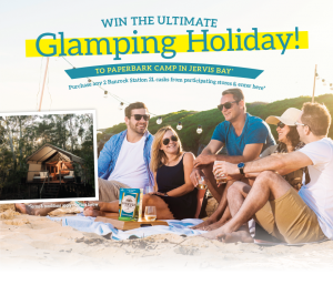 Accolade Wines – Win a trip for 4 to Paperbark Camp in Jervis Bay, NSW valued at up to $7,000
